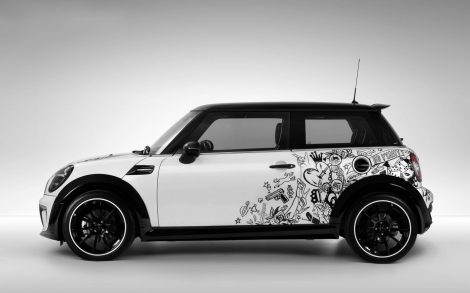 Wallpaper Mini Cooper.
