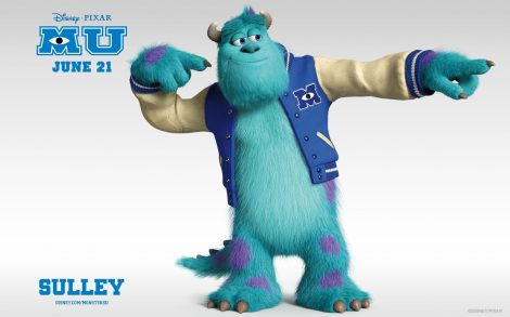 Wallpapers Monsters University Sulley.