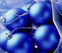 Wallpaper Navidad Azul