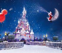 Wallpaper Navidad en Disneyland.