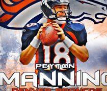 Wallpaper Peyton Manning Denver Broncos.