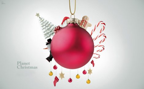 Wallpaper Planeta Christmas