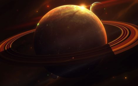 Wallpaper Saturno