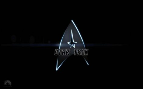 Wallpaper Star Trek Logo.