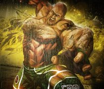 Wallpaper Street Fighter x Tekken Craig Marduk.