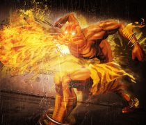 Wallpaper Street Fighter x Tekken Dhalsim.