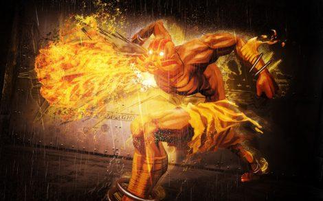 Wallpaper Street Fighter x Tekken Dhalsim.