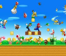 Wallpaper Super Mario World Batalla Final.