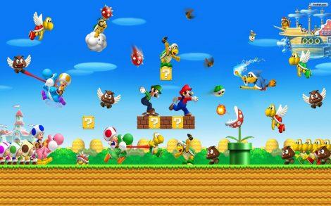 Wallpaper Super Mario World Batalla Final.