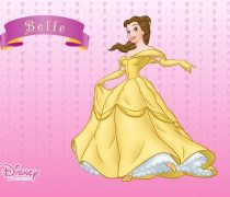 Wallpaper Bella de Disney