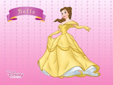 Wallpaper Bella de Disney