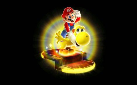 Wallpaper Super Mario Galaxy 2.