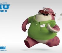 Wallpapers Monsters University Don Carlson.